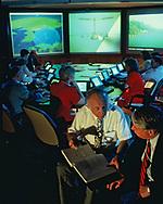 A Cyber War combat center in 1995<br />Photo by Dennis Brack