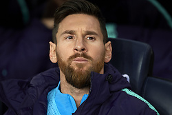 February 6, 2019 - Barcelona, Barcelona, Spain - Lionel Messi of Barcelona during the Spanish Cup (King's cup), first leg semi-final match between FC Barcelona and  Real Madrid at Camp Nou stadium on February 6, 2019 in Barcelona, Spain. (Credit Image: © Jose Breton/NurPhoto via ZUMA Press)