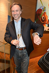 MARCUS WAREING at a party to celebrate the 30th Anniversary of the Breitling Chronomat held at 130 Breitling, New Bond Street, London on 7th May 2014.