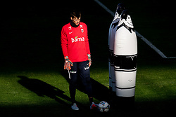 October 10, 2018 - Oslo, NORWAY - 181010 Goalkeeper Rune Almenning Jarstein of Norway during a training session on October 10, 2018 in Oslo..Photo: Jon Olav Nesvold / BILDBYRÃ…N / kod JE / 160323 (Credit Image: © Jon Olav Nesvold/Bildbyran via ZUMA Press)