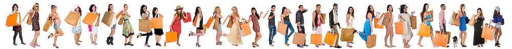 Endless shopping. On going project by Ilan Rosen.IlanPhoto.com.Ilan@IlanPhoto.com