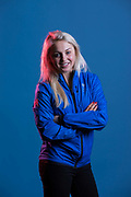 Aimee Fuller during GB Park & Pipe Winter Olympic official Adidas kitting out day on 24th January 2018 in Stockport, United Kingdom.
