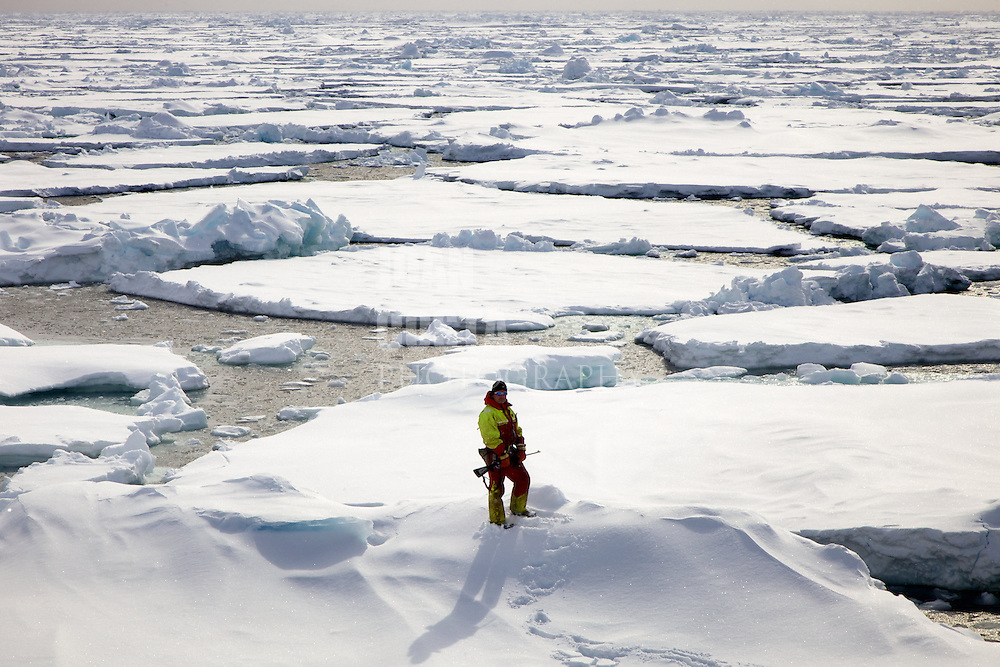 Áritco. Islas Svalbards.Paisaje helado..© JOAN COSTA