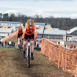 20190201: UCI CX Worlds : Dübendorf: Shirin van Aanrooij takes the firts ever world champion title for women juniors