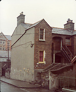 Old Dublin Amature Photos April 1984 WITH, <br /> Smithfield, Blackhall St, Kings Inns, Hill St, Temple St, Sallynoggin, R.C. Buckingham St, Chaplezord, Demolished Cottage Clonsilla, car, Old amateur photos of Dublin streets churches, cars, lanes, roads, shops schools, hospitals