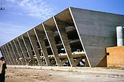 Museum of Modern Art extension work under construction  Rio de Janeiro, Brazil, South America 1962