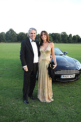 SHANE YOUNGER and NAOMI KRELL at the annual Ham Polo Club Summer Ball held at the club, Petersham Road, Richmond, Surrey on 25th July 2008.<br /> <br /> NON EXCLUSIVE - WORLD RIGHTS