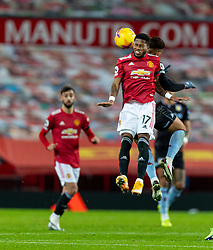 MANCHESTER, ENGLAND - Friday, January 1, 2020: Manchester United's Frederico Rodrigues de Paula Santos 'Fred' during the New Year's Day FA Premier League match between Manchester United FC and Aston Villa FC at Old Trafford. The game was played behind closed doors due to the UK government putting Greater Manchester in Tier 4: Stay at Home during the Coronavirus COVID-19 Pandemic. (Pic by David Rawcliffe/Propaganda)