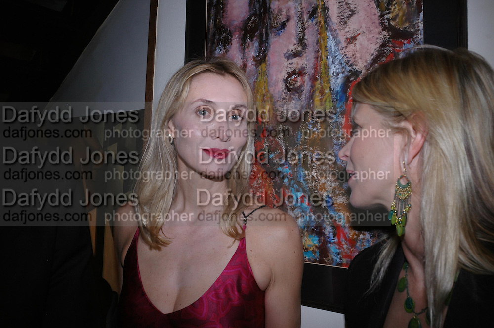 Allegra Hicks. Dinner at San Lorenzo, Beauchamp Place after Tod's hosts Book signing with Dante Ferretti celebrating the launch of 'Ferretti,- The art of production design' by Dante Ferretti. 19 April 2005.  ONE TIME USE ONLY - DO NOT ARCHIVE  © Copyright Photograph by Dafydd Jones 66 Stockwell Park Rd. London SW9 0DA Tel 020 7733 0108 www.dafjones.com