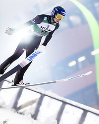 February 8, 2019 - Lahti, Finland - Maciej Kot participates in FIS Ski Jumping World Cup Large Hill Individual training at Lahti Ski Games in Lahti, Finland on 8 February 2019. (Credit Image: © Antti Yrjonen/NurPhoto via ZUMA Press)