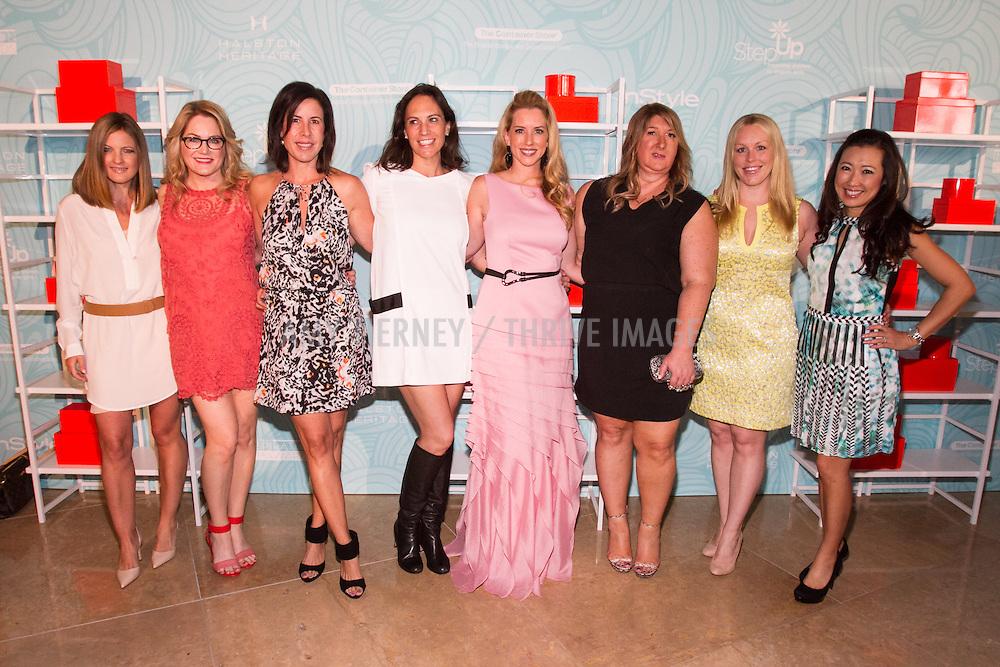 Step Up Board: Daniella Peters, Tara Crimin, Lori Briller, Jana Augsberger, Melanie Barr Levey, Tanya Hekimian, Kelly Hanker, Jan Coonley