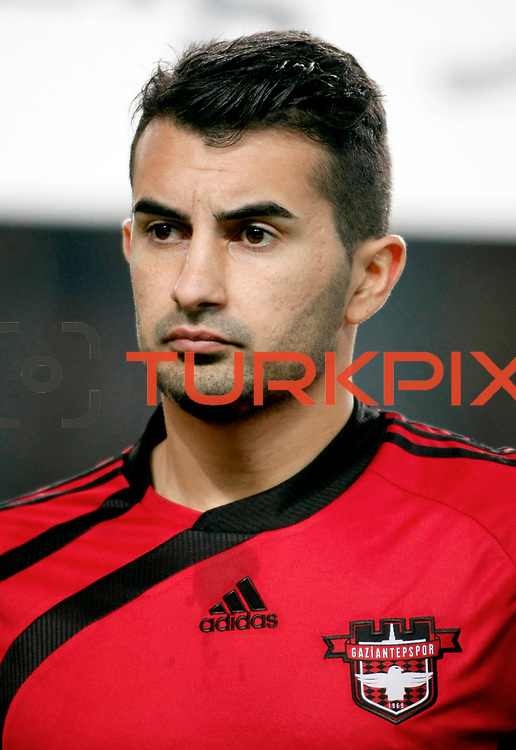Gaziantepspor's Elyasa Sume during their Turkish superleague soccer match Fenerbahce between Gaziantepspor at the Sukru Saracaoglu stadium in Istanbul Turkey on Monday09 January 2011. Photo by TURKPIX