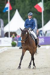 Jonna Friman (SWE) & Lady-Grey - Dressage - CCI4* - Luhmuhlen 2016 - Salzhausen, Lower Saxony, Germany - 16 June 2016