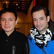 NLD/Amsterdam/201112119 - Premiere Spuiten & Slikken, Valerio Zeno en vermoedelijk zijn broer