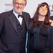 NLD/Amsterdam/20121028 - Inloop premiere nieuwe James Bond film Skyfall , Jeroen Krabbe, Amanda Beekman, Martijn Krabbe