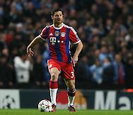 Xabi Alonso of Bayern Munich  - UEFA Champions League group E - Manchester City vs Bayern Munich - Etihad Stadium - Manchester - England - 25rd November 2014  - Picture Simon Bellis/Sportimage