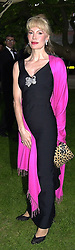MRS DONATELLA FLICK ex wife of the Mercedes <br /> car heir, at a dinner in London on 20th June 2000.<br /> OFO 167<br /> © Desmond O'Neill Features:- 020 8971 9600<br />    10 Victoria Mews, London.  SW18 3PY <br /> www.donfeatures.com   photos@donfeatures.com<br /> MINIMUM REPRODUCTION FEE AS AGREED.<br /> PHOTOGRAPH BY DOMINIC O'NEILL