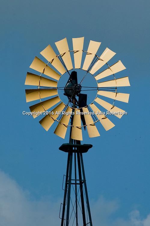 Wind Mill on Farm