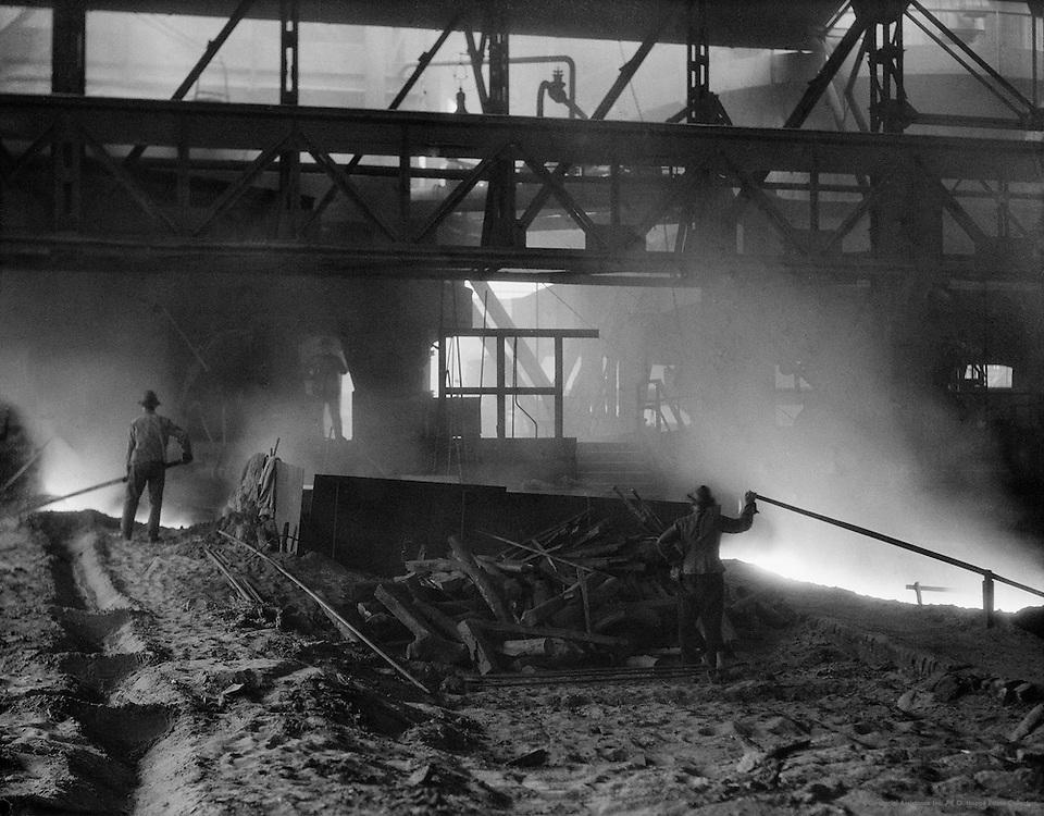 Worker, Stahlwerke Hösch, Dortmund, 1928