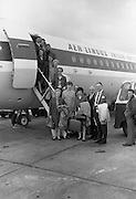 The Irish Bridge Team depart for the World Bridge Olympiad at Deauville, France..05.06.1968