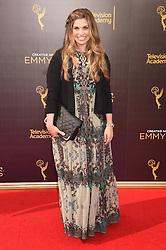 Danielle Fishel bei der Ankunft zur Verleihung der Creative Arts Emmy Awards in Los Angeles / 110916 <br /> <br /> *** Arrivals at the Creative Arts Emmy Awards in Los Angeles, September 11, 2016 ***