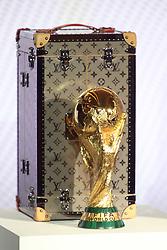 May 17, 2018 - Paris, France - Nouvel ecrin Louis Vuitton du trophee de la coupe du monde FIFA (Credit Image: © Panoramic via ZUMA Press)