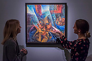 UMBERTO BOCCIONI, TESTA + LUCE + AMBIENTE, £5,500,000 — 7,500,000 - Highlights From London's Flagship Sales of Impressionist, Modern, Surrealist & Contemporary Art at Sotheby's London.