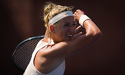 August 29, 2018 - Victoria Azarenka of Belarus in action during her second-round match at the 2018 US Open Grand Slam tennis tournament. New York, USA. August 29th 2018. (Credit Image: © AFP7 via ZUMA Wire)