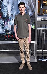 October 17, 2017 - Los Angeles, California, USA - 10/16/17.Mason Cook at the world premiere of ''Geostorm''..(Hollywood, CA) (Credit Image: © Starmax/Newscom via ZUMA Press)