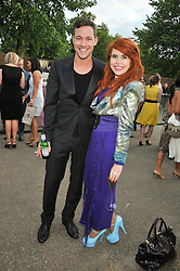 Singers WILL YOUNG and Paloma Faith at the annual Serpentine Gallery Summer Party sponsored by Canvas TV  the new global arts TV network, held at the Serpentine Gallery, Kensington Gardens, London on 9th July 2009.