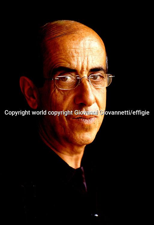 Giorgio Todde<br />world copyright Giovanni Giovannetti/effigie / Writer Pictures<br /> <br /> NO ITALY, NO AGENCY SALES / Writer Pictures<br /> <br /> NO ITALY, NO AGENCY SALES