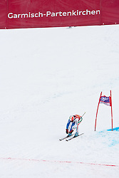11.03.2010, Kandahar Strecke Damen, Garmisch Partenkirchen, GER, FIS Worldcup Alpin Ski, Garmisch, Lady Giant Slalom, im Bild Brignone Federica, ( ITA, #14 ), Ski Rossignol, #EXPA Pictures © 2010, PhotoCredit: EXPA/ J. Groder / SPORTIDA PHOTO AGENCY