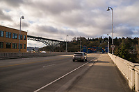 Fremont & Aurora Bridges (April 3, 2020).