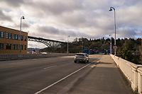 Fremont & Aurora Bridges (April 3, 2020).