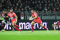 - 14.03.2015 - Lyon OU / Toulon -  20eme journee de Top 14<br /> Photo : Jean Paul Thomas  / Icon Sport<br /> <br />   *** Local Caption ***