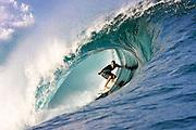 C J Hobgood <br /> Tube ride     <br />  pic  Steve Ryan