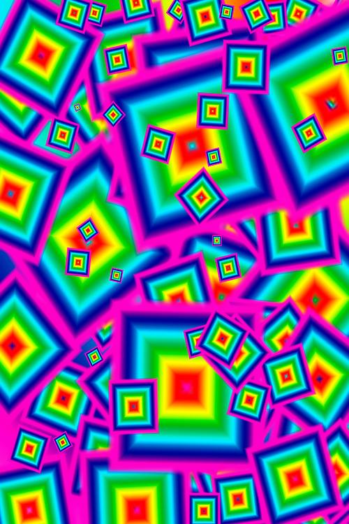 2000, Das Computerzeitalter hält Einzug in das Privatleben der westlichen Industrienationen. <br /> <br /> Kameralose digitale Pixelgebilde.<br /> <br /> The computer age is making its way into the private lives of Western industrial nations. <br /> <br /> Camera-less digital pixel images.