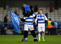 Football - 2018 / 2019 FA Cup - Third Round: Queens Park Rangers vs. Leeds United<br /> <br /> The mascot with Queens Park Rangers' Luke Freeman, at Loftus Road.<br /> <br /> COLORSPORT/ASHLEY WESTERN