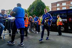 Luke Russe of Bristol Rovers arrives at Loftus Road prior to kick off - Mandatory by-line: Ryan Hiscott/JMP - 28/08/2018 - FOOTBALL - Loftus Road - London, England - Queens Park Rangers v Bristol Rovers - Carabao Cup