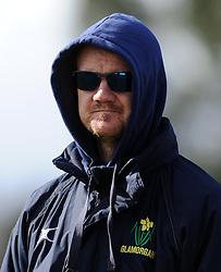 Glamorgan's Coach David Harrison- Photo mandatory by-line: Harry Trump/JMP - Mobile: 07966 386802 - 24/03/15 - SPORT - CRICKET - Pre Season Fixture - Day 2 - Somerset v Glamorgan - Taunton Vale Cricket Club, Somerset, England.
