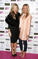 Caprice & Noelle Reno, A Night With Nick, Cafe Kaizen, London UK, 04 December 2014, Photo By Brett D. Cove