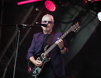 Nik Kershaw  performing live on stage during Solihull Summerfest Tudor Grange Park Solihull  West Midlands 2021