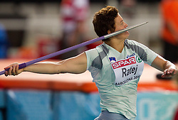 Martina Ratej of Slovenia competes in the Womens Javelin Final during day three of the 20th European Athletics Championships at the Olympic Stadium on July 29, 2010 in Barcelona, Spain. (Photo by Vid Ponikvar / Sportida)