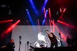 July 2, 2018 - Barolo, Cn, Italy - Depeche Mode perform live for the only Italian show in Barolo  (Credit Image: © Daniele Baldi/Pacific Press via ZUMA Wire)