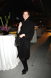 Actress MARGO STILLEY at a party to celebrate the opening of the new international train station at St.Pancras, London on 12th November 2007.<br />