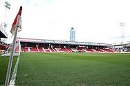 Griffin Park during the Sky Bet Championship match between Brentford and Fulham at Griffin Park, London, England on 30 April 2016. Photo by Matthew Redman.
