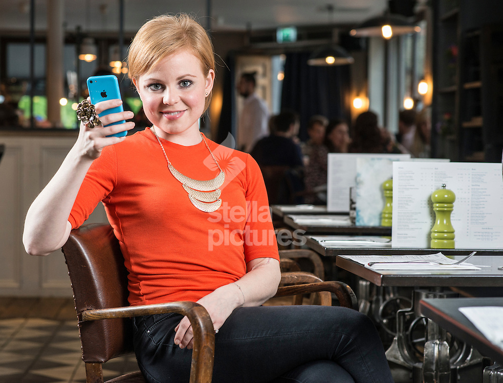 Rosy Edwards, author of 'Confessions of a Tinderella'<br /> Picture by Daniel Hambury/Stella Pictures Ltd +44 7813 022858<br /> 08/05/2015