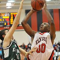1.21.2012 Elyria Catholic at Elyria Boys Varsity Basketball