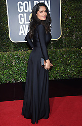 Kit Harington at the 75th Annual Golden Globe Awards held at the Beverly Hilton Hotel on January 7, 2018 in Beverly Hills, CA ©Tammie Arroyo-GG18/AFF-USA.com. 07 Jan 2018 Pictured: Salma Hayek. Photo credit: MEGA TheMegaAgency.com +1 888 505 6342