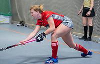 HAMBURG  (Ger) - Match 19,  for bronze , Der Club an der Alster (Ger) - Club Campo de Madrid (Esp)  Photo:   Eurohockey Indoor  Club Cup 2019 Women . WORLDSPORTPICS COPYRIGHT  KOEN SUYK